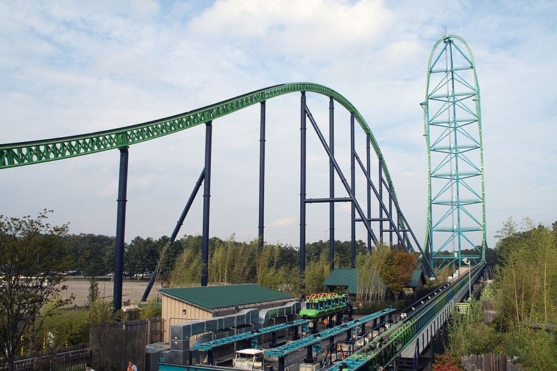 top 10 fastest roller coaster