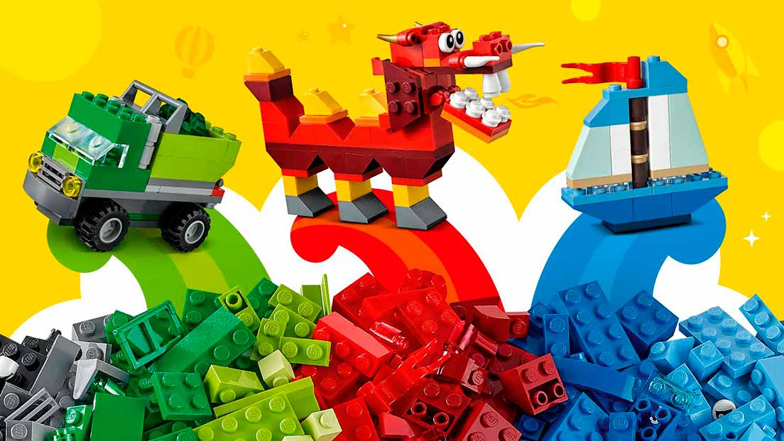 Ego Classic Lego Creative Building Set