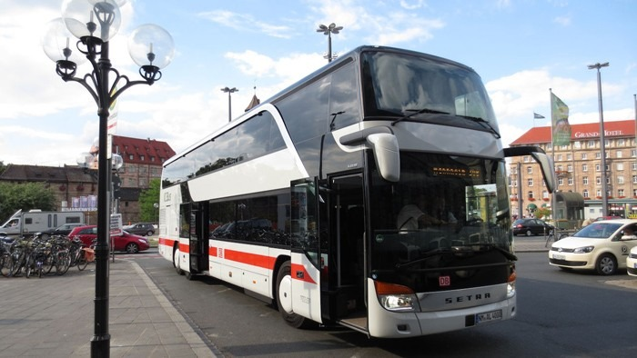 Neoplan Jumbocruiser-biggest bus in the world