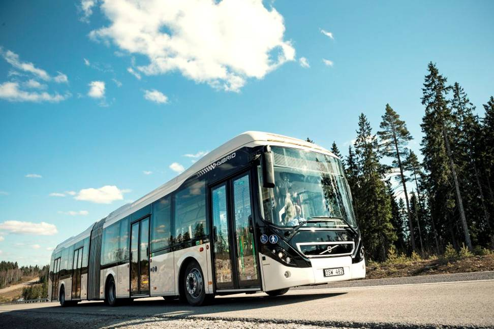 Volvo 7900 Hybrid Articulated-world largest bus