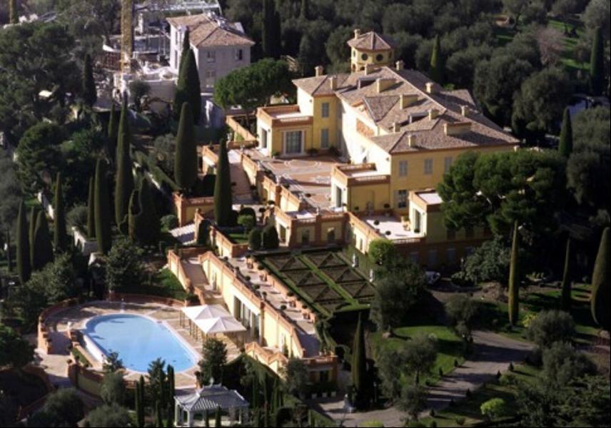 top ten biggest houses in the world
