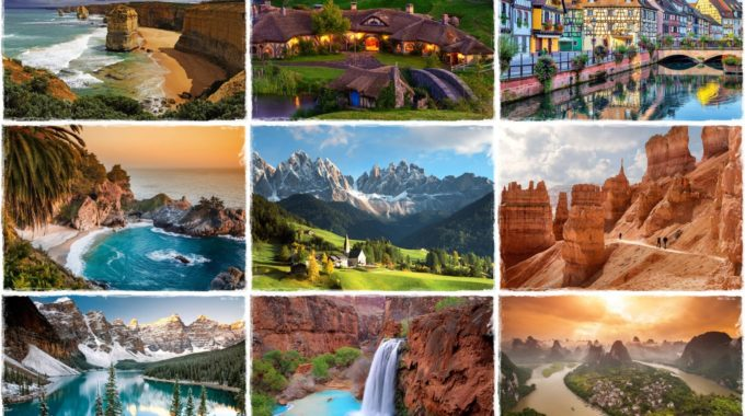 Top 10 Most Beautiful and Famous Places in the World 2017