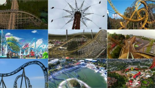 Top 10 Fastest Roller Coasters of the world 2017