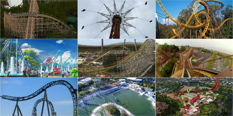 Top 10 Fastest Roller Coasters of the World of 2019
