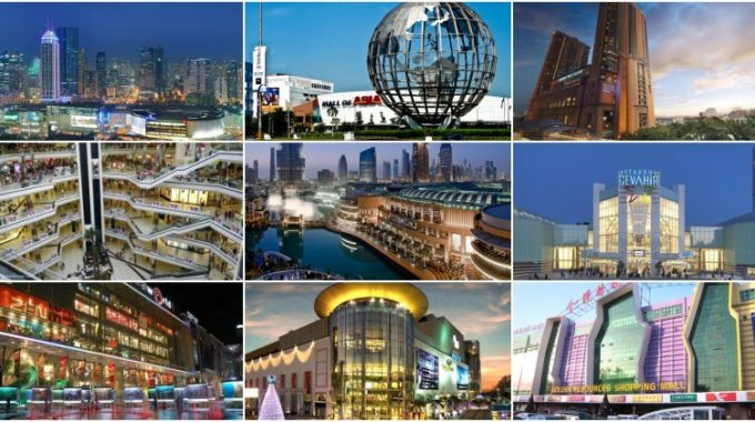 Top 10 Largest Shopping Malls in the World 2017