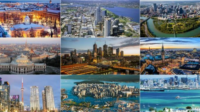 Top 10 Most Livable Cities in the World 2017