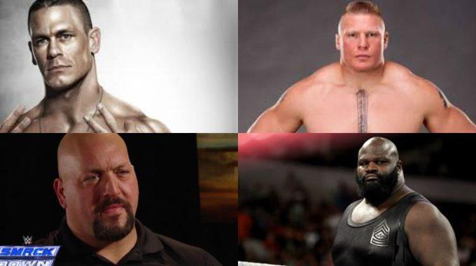 Top 10 Strongest WWE Wrestlers in 2017