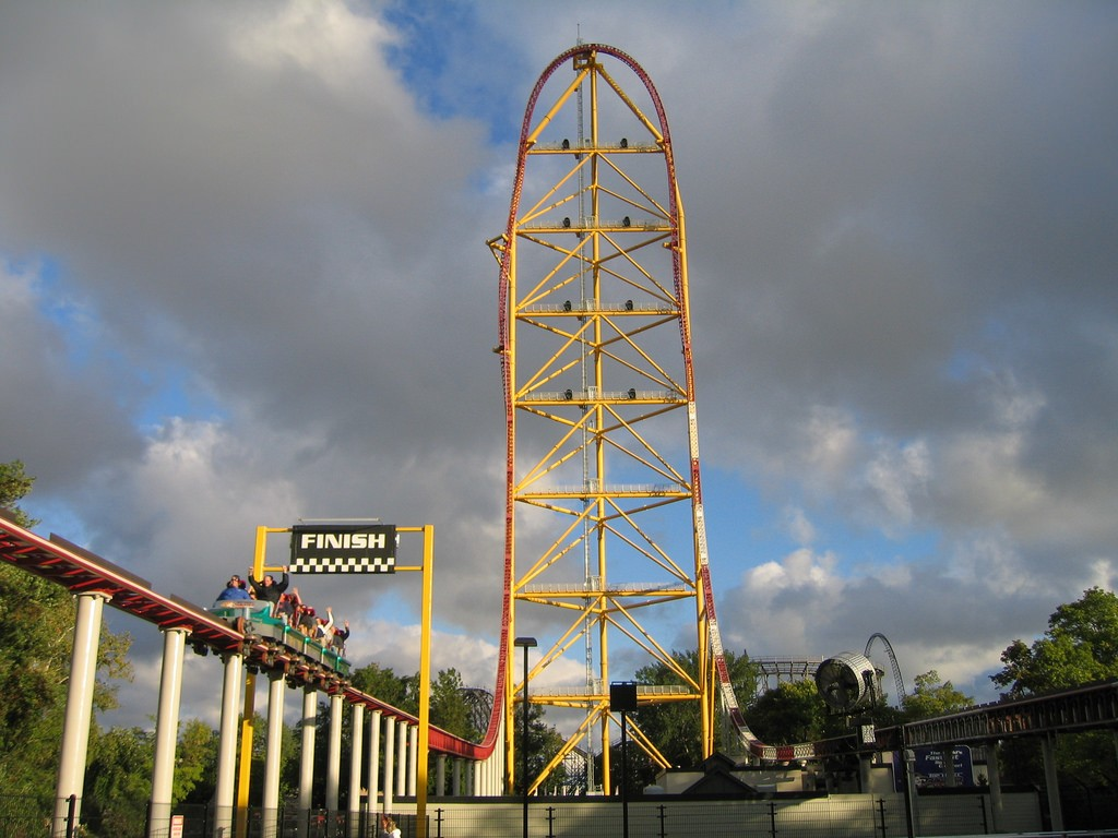 10 fastest roller coasters