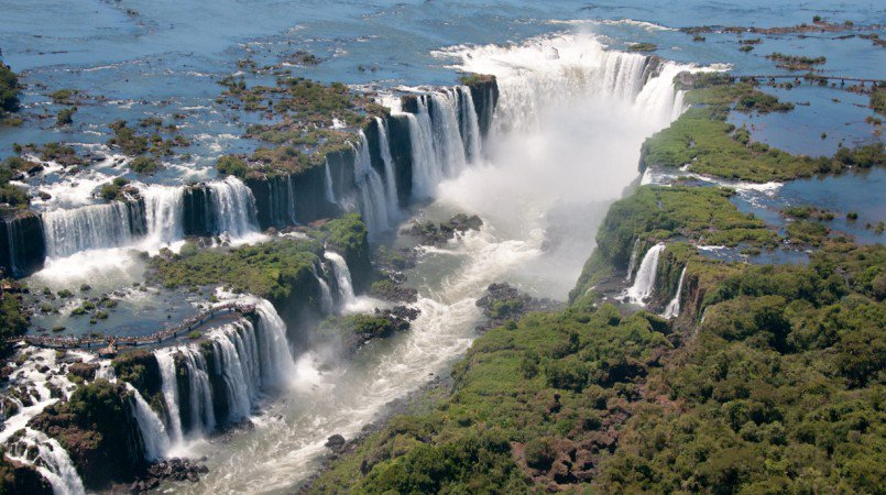 Iguazu Falls (Cataratas Del Iguazu)-what is the biggest waterfall in the world