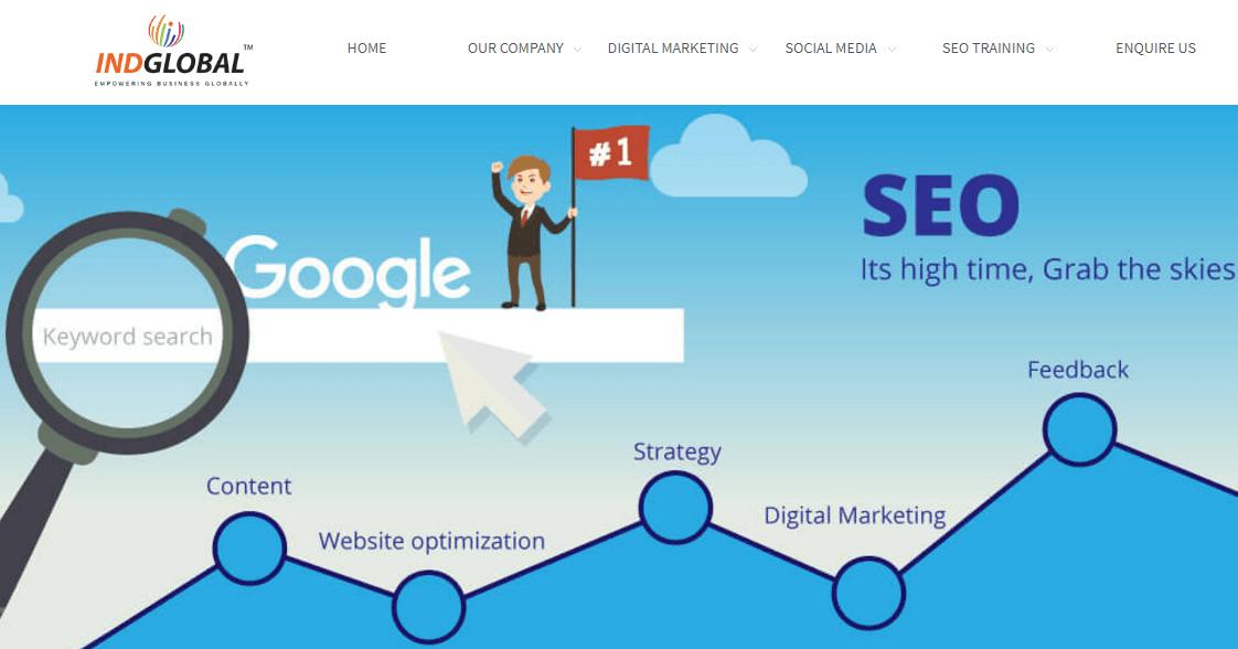 SEO Services Providers in Bangalore