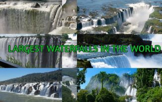 Top 10 biggest waterfalls in the world 2017