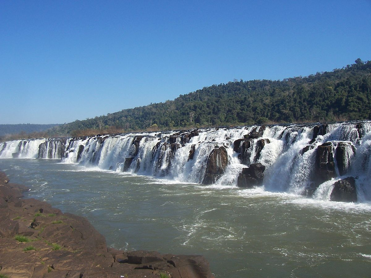 the biggest waterfalls in the world