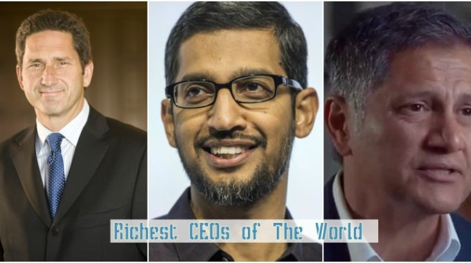 Top 10 Richest CEOs In the World 2017
