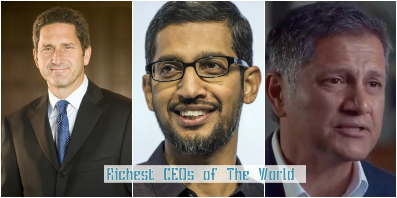 top 10 richest ceo of the world of 2019
