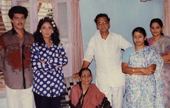 ajith kumar parents photos