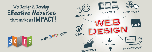 Top 10 Web Development Companies in Hyderabad, 3Kits