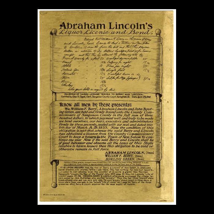 Top 10 Unknown Facts about Alcohols, Abraham liquor license