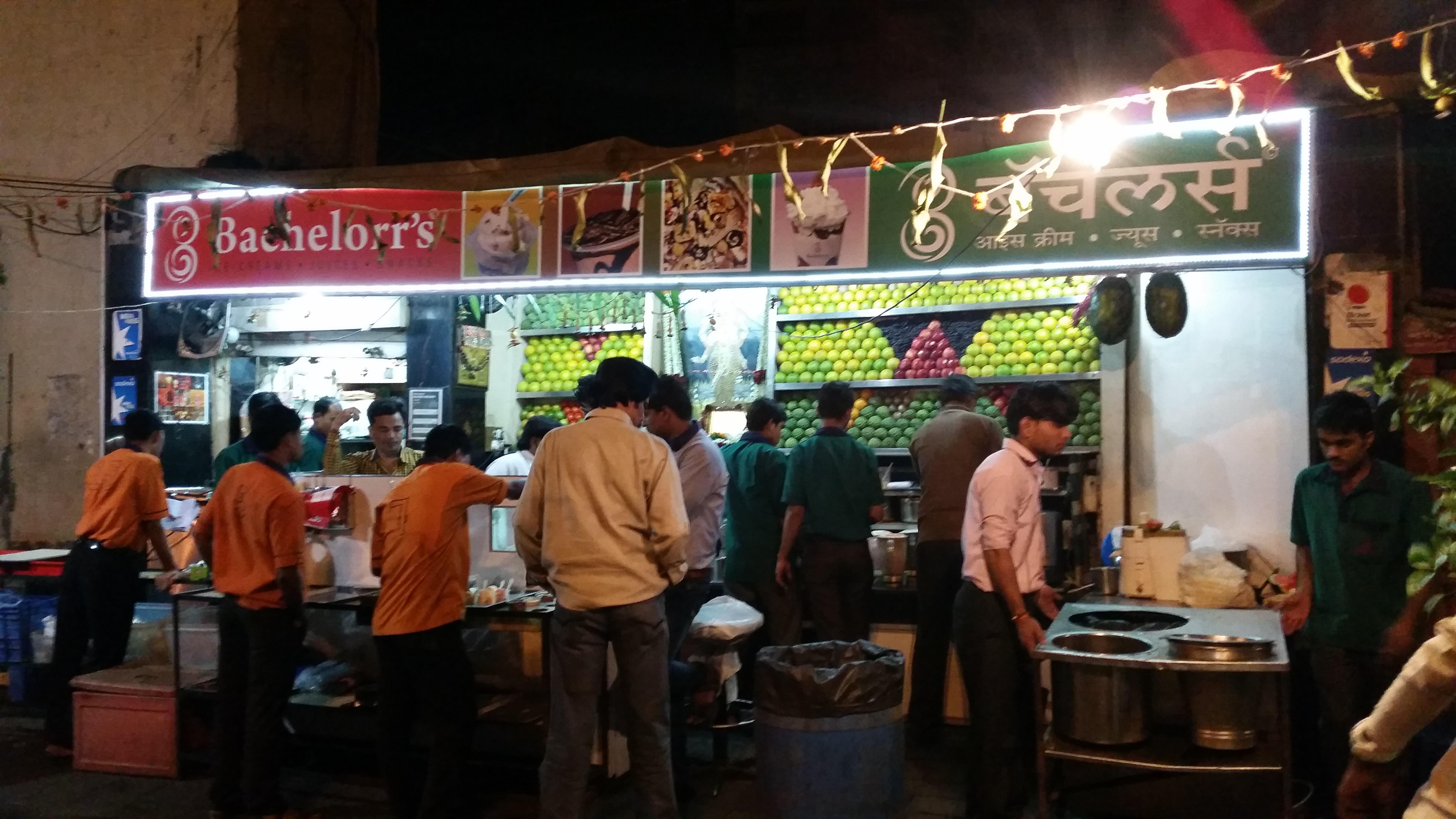 10 best street foods in Mumbai, Bachelors Mumbai