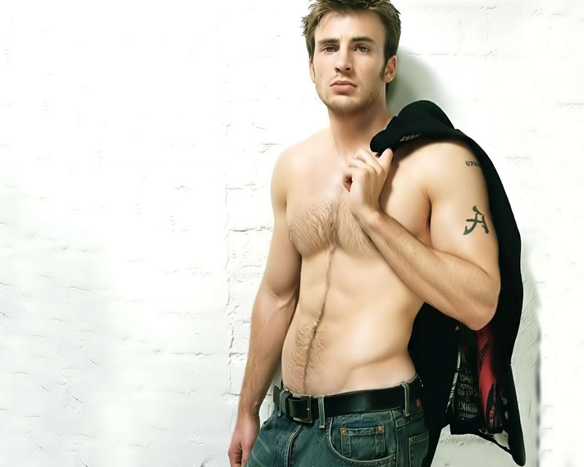 Handsome men in the World, Chris Evans