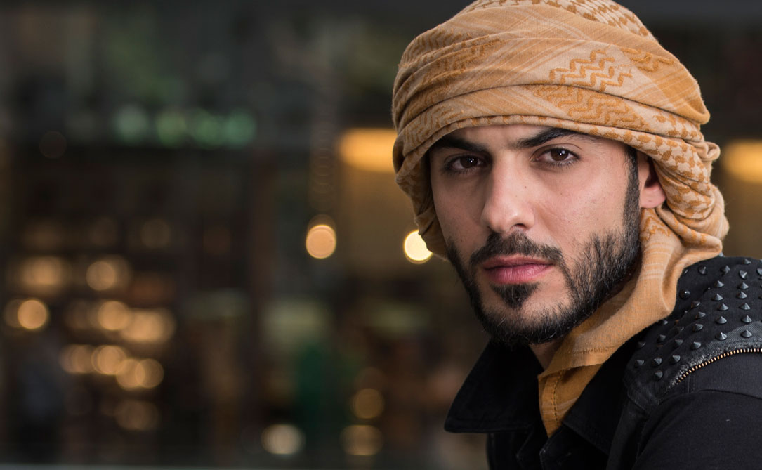 Top 10 Handsome men in the World in 2017, Omar Borkan Al Gala