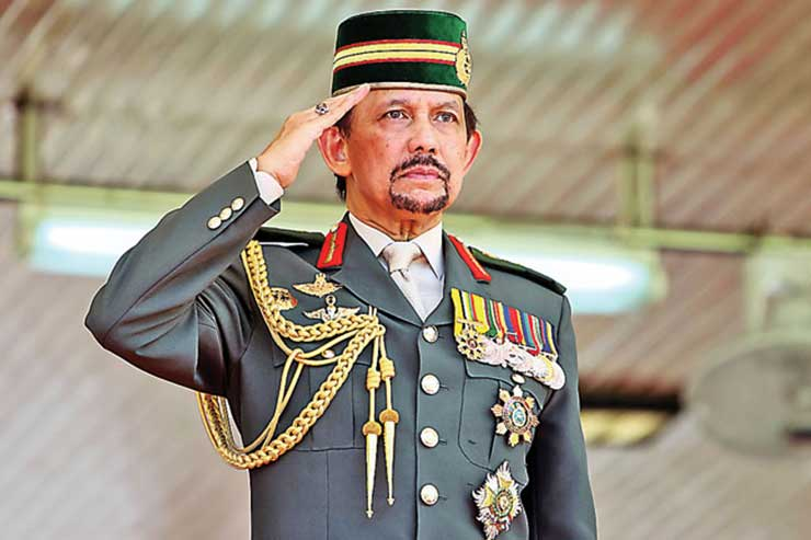 Top 10 Richest Royal Families In The World, Sultan Hassanal Bolkiah