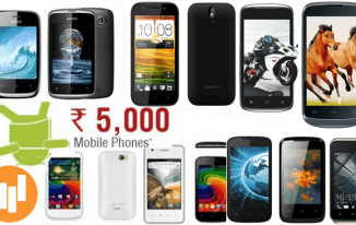 Top 10 Mobiles Under Rs 5000 in India (2017)