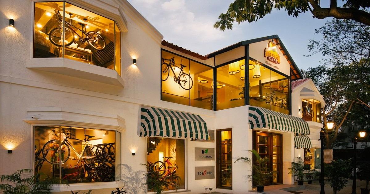 10 best Theme Restaurants in Chennai, Ciclo Cafe