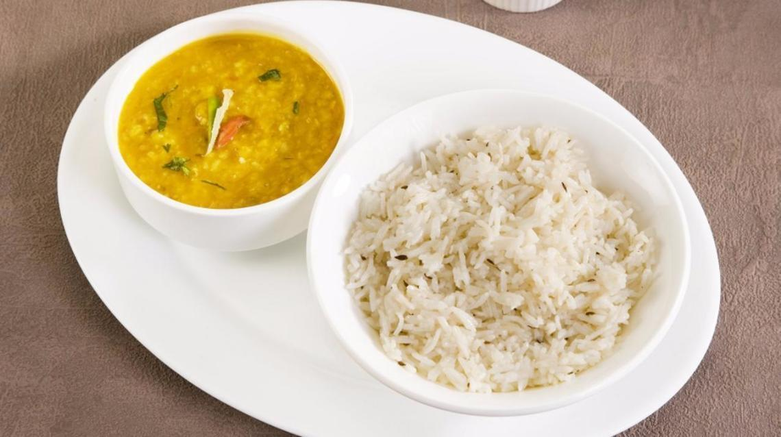 Top 10 Dinner in Indian Recipes, Dal chawal
