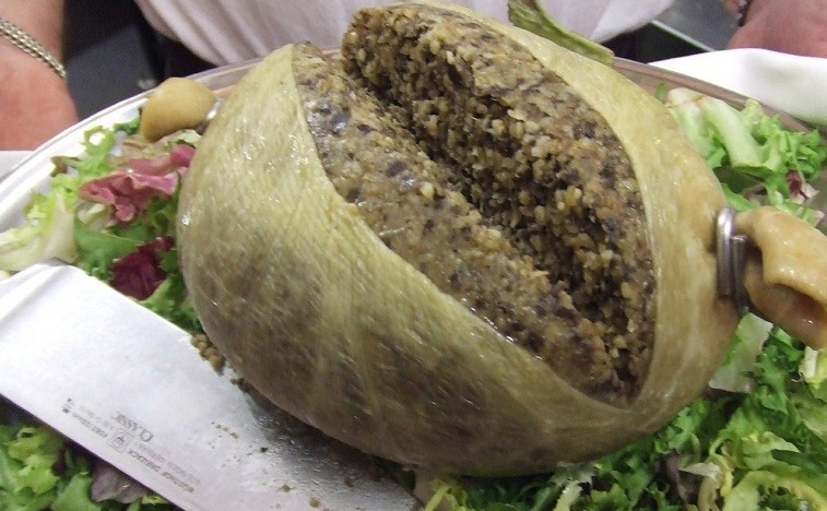 Top 10 foods that are banned across the world, Haggis