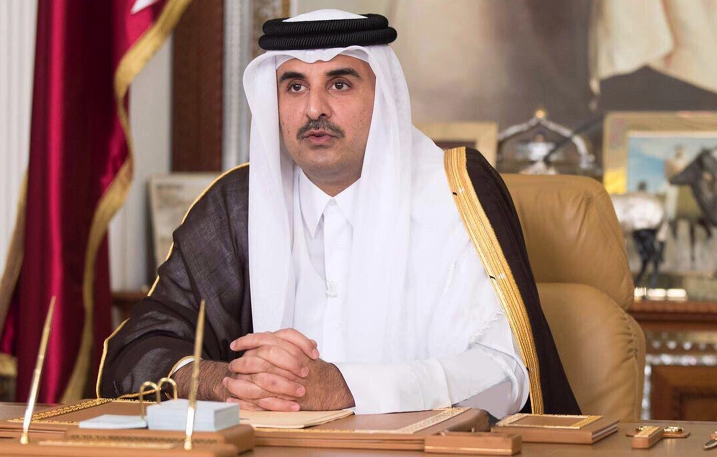 Top 10 Richest Royal Families In The World, heikh Tamim bin Hamad Al Thani