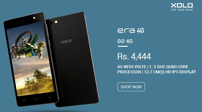 Top 10 Mobiles Under Rs 5000 in India, Xolo Era 4g