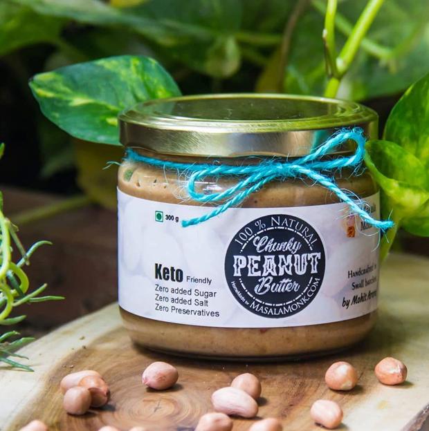 Chunky Peanut Butter - The Tastiest Peanut Butter