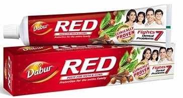 top toothpaste brand in India