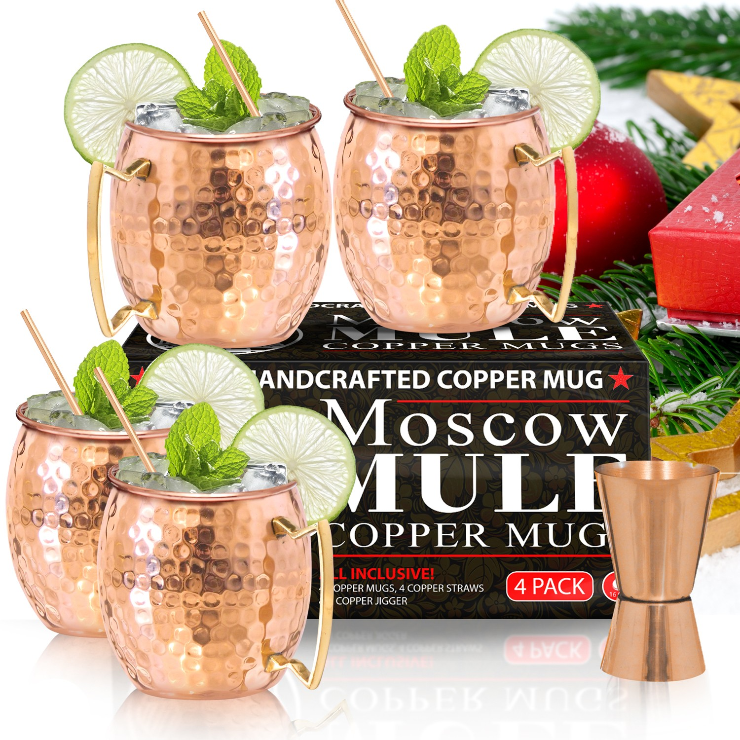 Making Moscow Mules and Mugs